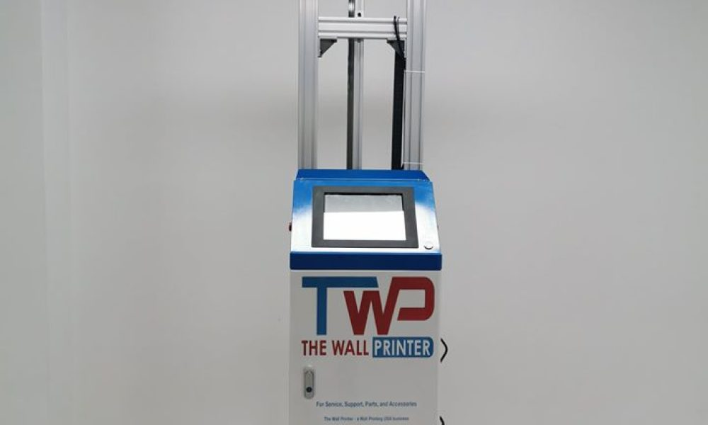 wall printer machine business opportunity vertical wall printer